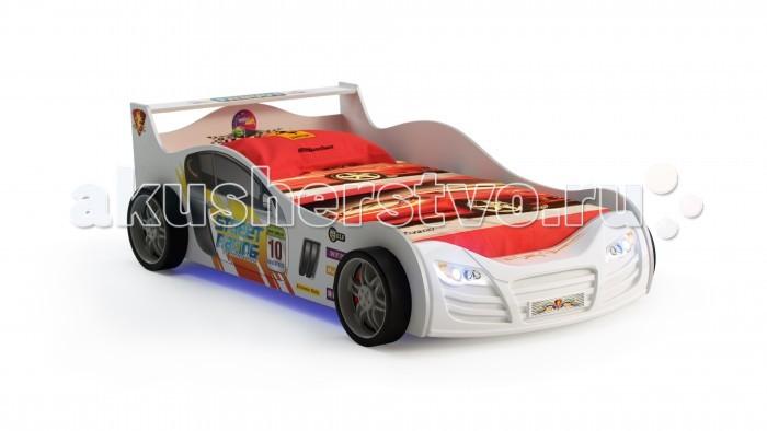 Детские кроватки Grifon Style Машина R 800 с подсветкой кровать машина кровати машины радуга m056