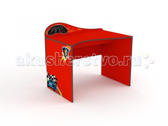 Grifon Style Письменный стол R800Письменный стол R800Grifon Style Письменный стол R800 – удобный, эргономичный стол от российской фирмы Grifon Style. Оригинальный дизайн, выполненный в стиле всей коллекции отлично дополнит интерьер детской комнаты или спальни.  Письменный стол приспособлен для работы с компьютером. Корпус изделия изготовлен из экологически чистых материалов.  Письменный стол – это травмобезопасная конструкция, поэтому вы всегда будете спокойны за своего малыша.  Основные характеристики: подходит мальчикам и девочкам в возрасте от 3 до 15 лет эргономичная ручка приспособлен для работы с домашним компьютером.  Материалы и безопасность: изделие изготовлено из экологически чистых, гипоаллергенных, сертифицированных материалов основной материал кровати: ДСП изделие соответствует европейским стандартам качества.  Общие размеры: внешние размеры стола (г х ш х в): 65 х 100 х 90 см<br>