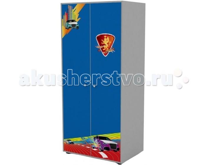 Детская мебель , Шкафы Grifon Style Двустворчатый R800 арт: 278086 -  Шкафы