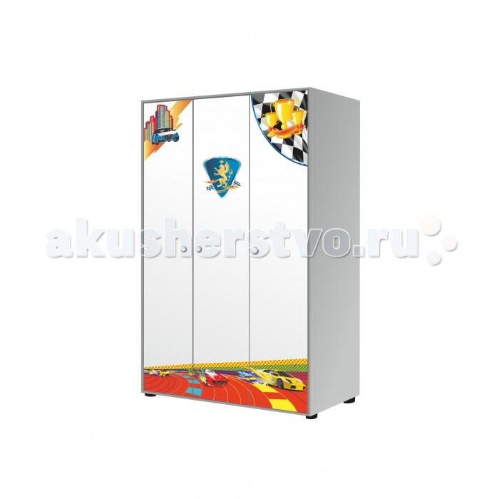 Детская мебель , Шкафы Grifon Style Трехстворчатый R800 арт: 278134 -  Шкафы