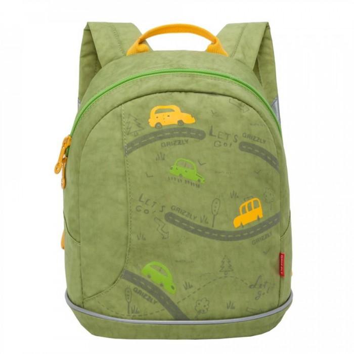 Купить Школьные рюкзаки, Grizzly Рюкзак детский RK-078-4