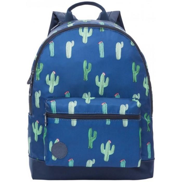 Школьные рюкзаки Grizzly Рюкзак Кактусы