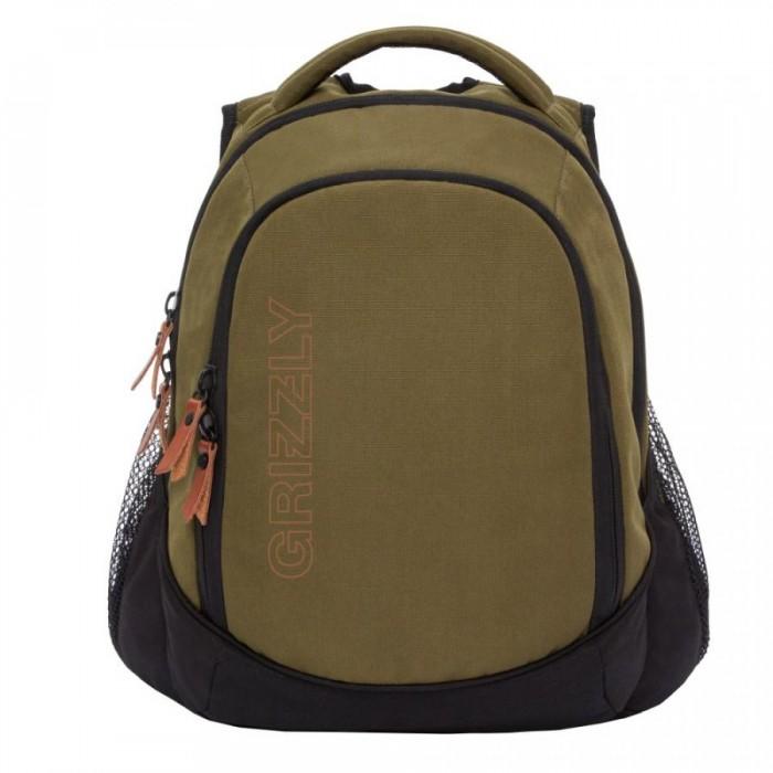 Школьные рюкзаки Grizzly Рюкзак молодежный RU-928-2