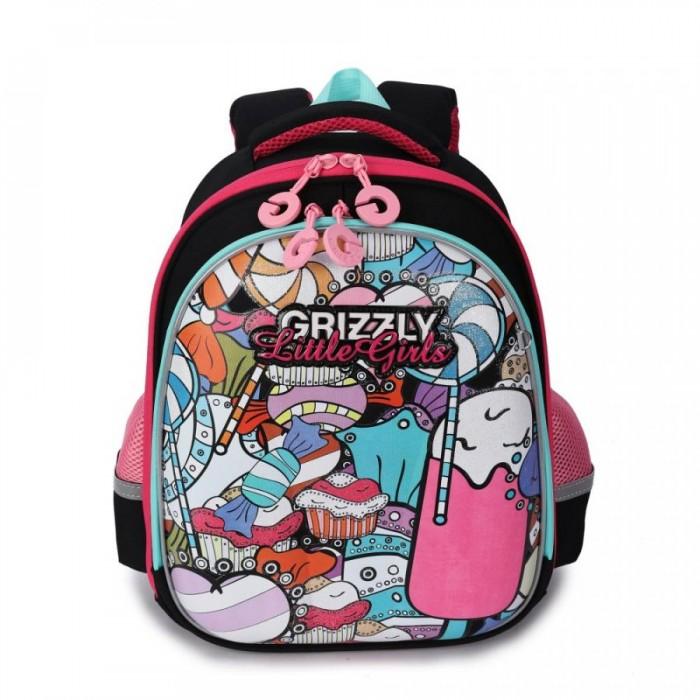 Купить Школьные рюкзаки, Grizzly Рюкзак RA-979-3