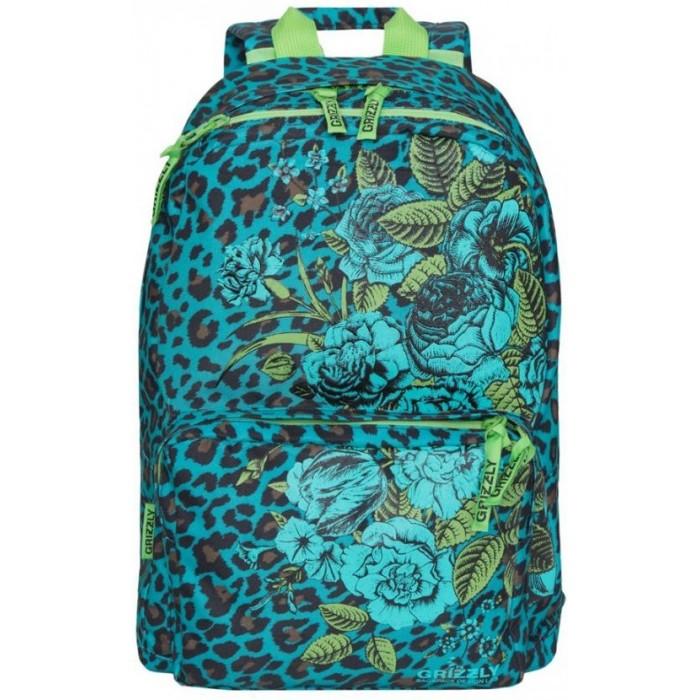 Школьные рюкзаки Grizzly Рюкзак школьный Леопард
