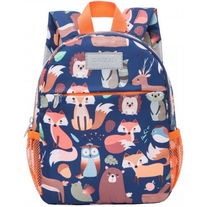 Купить Школьные рюкзаки, Grizzly Рюкзак Лесные животные