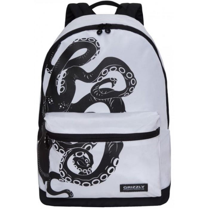 Картинка для Школьные рюкзаки Grizzly Рюкзак Осьминог RQ-007-5