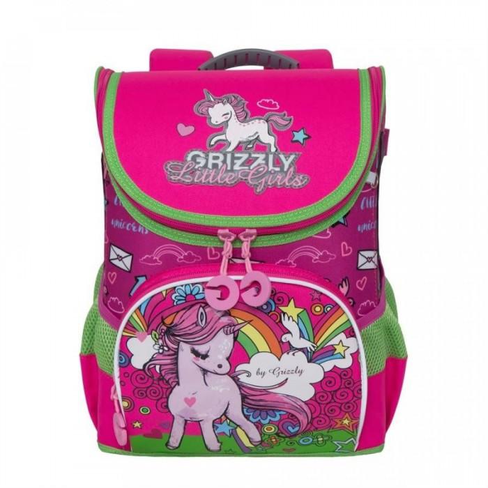 цена на Школьные рюкзаки Grizzly Рюкзак школьный RA-981-2
