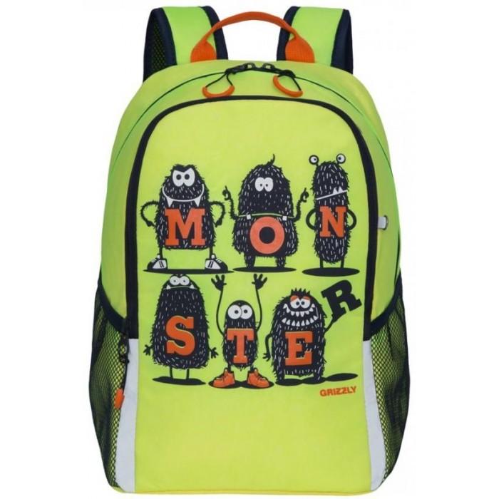 Школьные рюкзаки Grizzly Рюкзак школьный RB-051-4 школьные рюкзаки grizzly рюкзак школьный ra 970 4