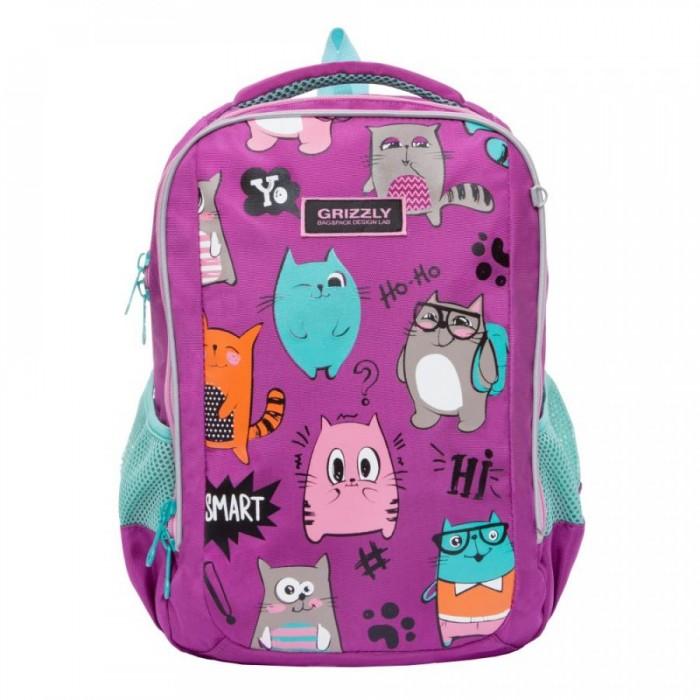 Купить Школьные рюкзаки, Grizzly Рюкзак школьный RG-969-2