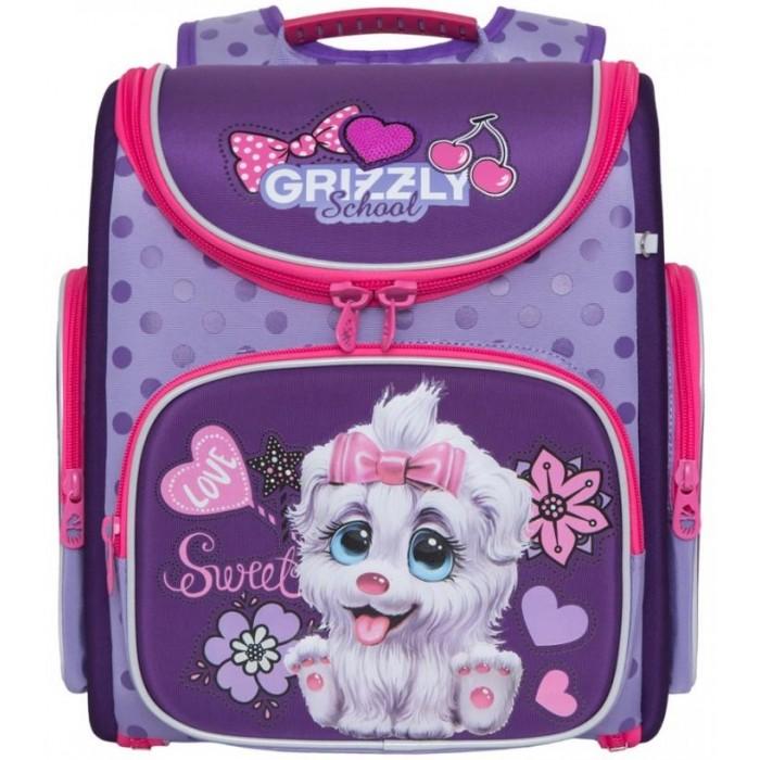 Школьные рюкзаки Grizzly Рюкзак школьный Собака