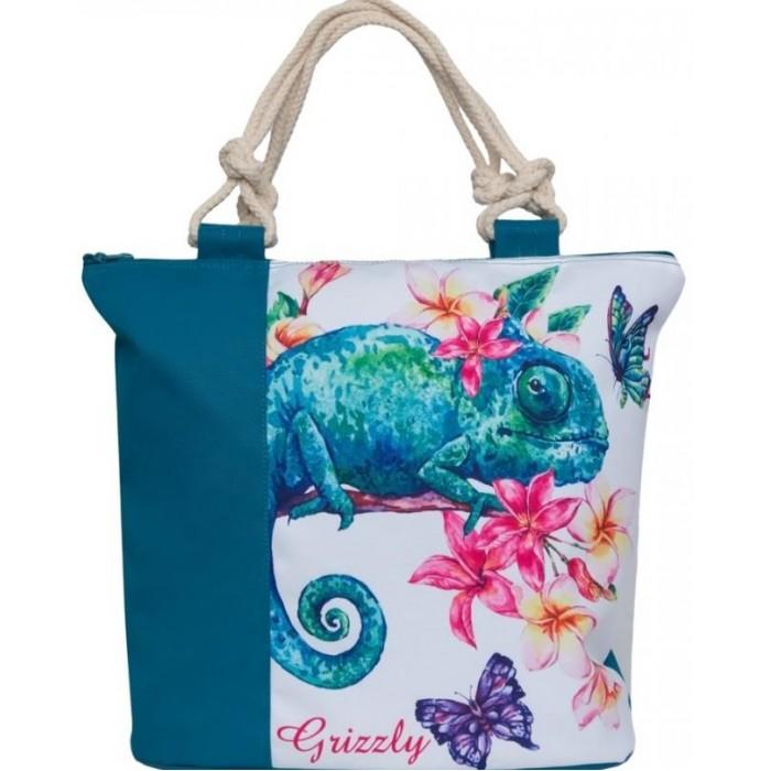 Сумки для детей Grizzly Сумка молодежная Хамелеон сумка женская grizzly цвет черный розовый 9 5 л md 621 2 1