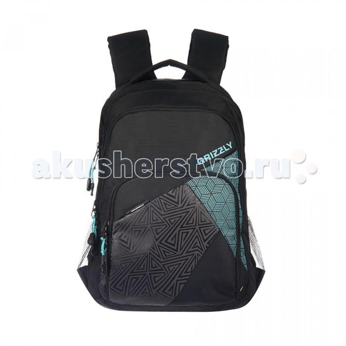 Grizzly Рюкзак RRU-607-1Рюкзак RRU-607-1Grizzly Рюкзак RRU-607-1 выполнен из очень легкой, эластичной ткани высокой прочности. Она устойчива к износу, хорошо стирается и быстро сохнет, сохраняя свою форму.  Особенности: два отделения,  объемный карман на молнии на передней стенке,  боковые карманы из сетки,  внутренний подвесной карман на молнии,  внутренний составной пенал-органайзер,  ортопедическая спинка,  дополнительная ручка-петля,  мягкая укрепленная ручка,  нагрудная стяжка-фиксатор,  укрепленные лямки  Объем: 29 л Размеры: 32х20х45 см<br>