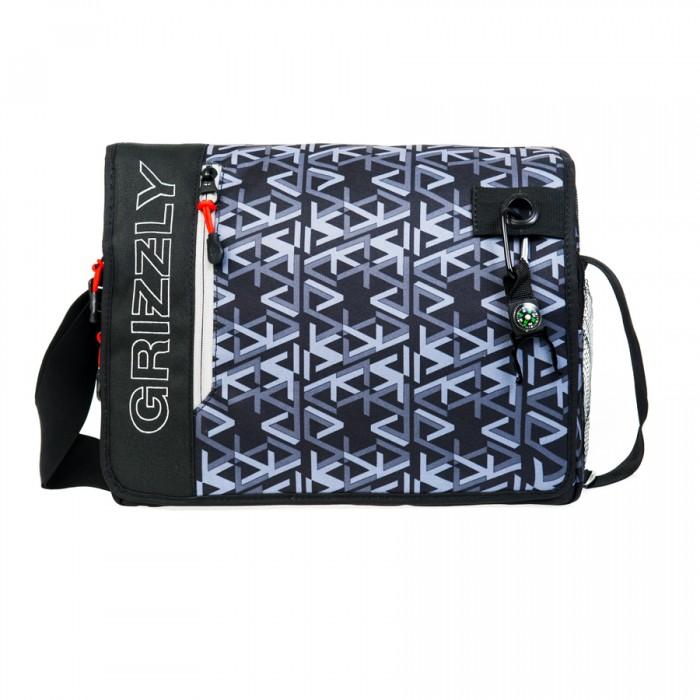 Школьные рюкзаки Grizzly MM-610-3 Сумка молодежная молодежная лихорадка