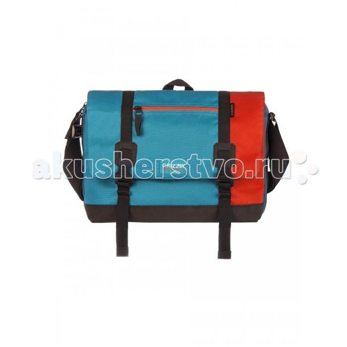 Школьные рюкзаки Grizzly MM-619-3 Сумка молодежная рюкзаки grizzly рюкзак