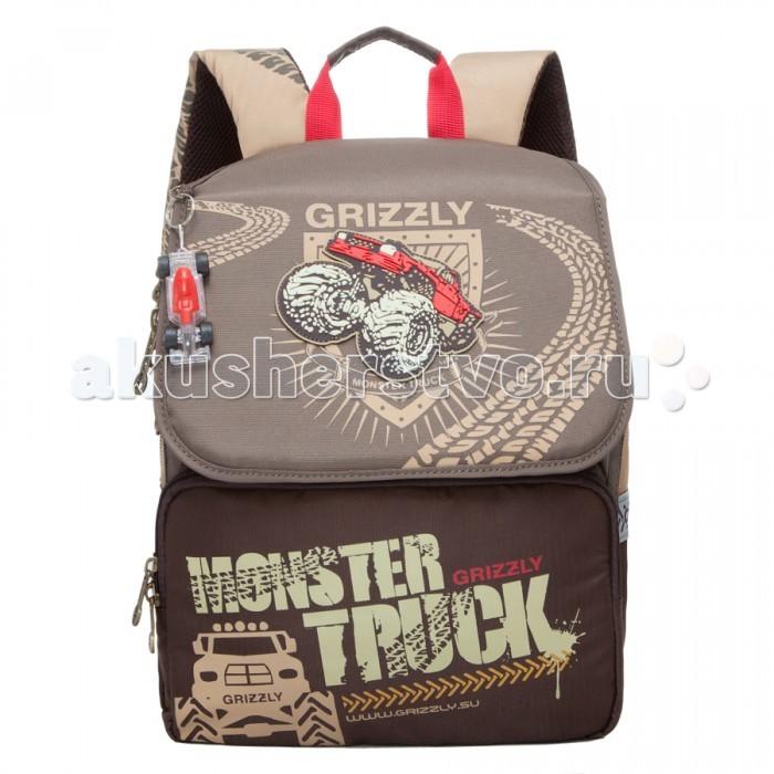 Школьные рюкзаки Grizzly RA-671 Рюкзак школьный рюкзаки grizzly рюкзак
