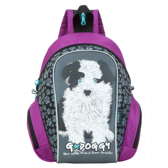 Школьные рюкзаки Grizzly Рюкзак детский RS-665-4 рюкзаки grizzly рюкзак