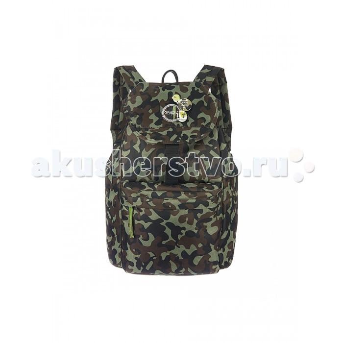 Школьные рюкзаки Grizzly Рюкзак RD-646-4 рюкзак женский grizzly цвет бордовый 20 л 21 л rd 649 1 4