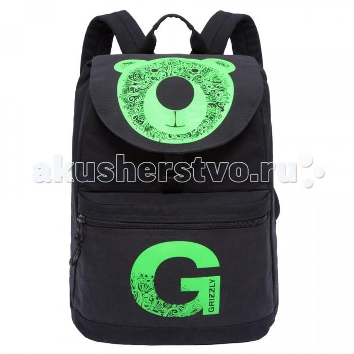 Школьные рюкзаки Grizzly Рюкзак RD-744-1 рюкзаки grizzly рюкзак