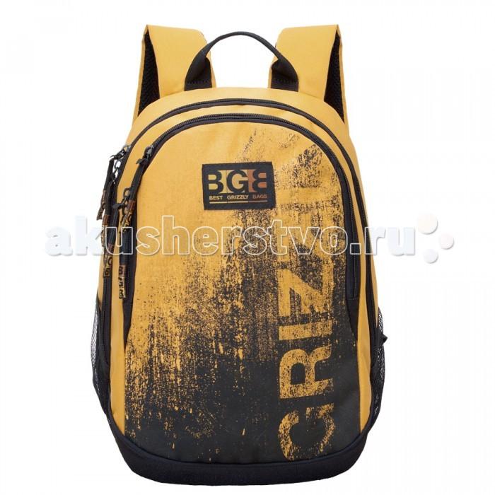 Grizzly Рюкзак RU-603-1Рюкзак RU-603-1Grizzly Рюкзак RU-603-1 выполнен из очень легкой, эластичной ткани высокой прочности. Она устойчива к износу, хорошо стирается и быстро сохнет, сохраняя свою форму.  Особенности: рюкзак молодежный два отделения  карман на молнии на передней стенке  боковые карманы из сетки  внутренний карман на молнии внутренний карман-пенал для карандашей внутренний подвесной карман на молнии  жесткая анатомическая спинка  дополнительная ручка-петля укрепленные лямки.<br>