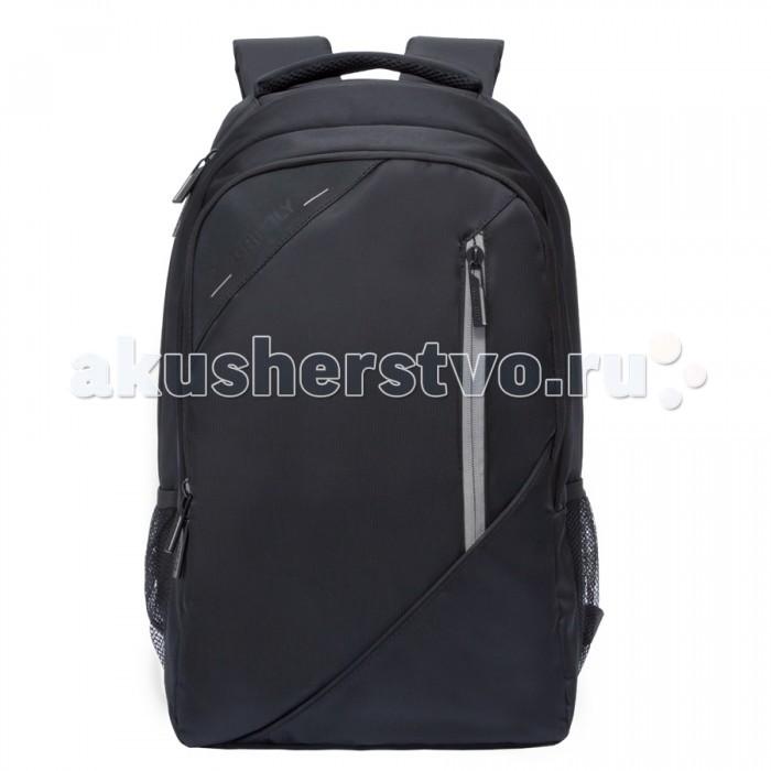 Grizzly Рюкзак RU-700-3Рюкзак RU-700-3Grizzly Рюкзак RU-700-3 выполнен из очень легкой, эластичной ткани высокой прочности. Она устойчива к износу, хорошо стирается и быстро сохнет, сохраняя свою форму.  Особенности: рюкзак молодежный два отделения  карман на молнии на передней стенке  боковые карманы из сетки внутренний карман на молнии  внутренний составной пенал-органайзер внутренний укрепленный карман для ноутбука жесткая анатомическая спинка карман быстрого доступа на задней стенке мягкая укрепленная ручка  нагрудная стяжка-фиксатор укрепленные лямки  Материал: Нейлон DL-2112<br>
