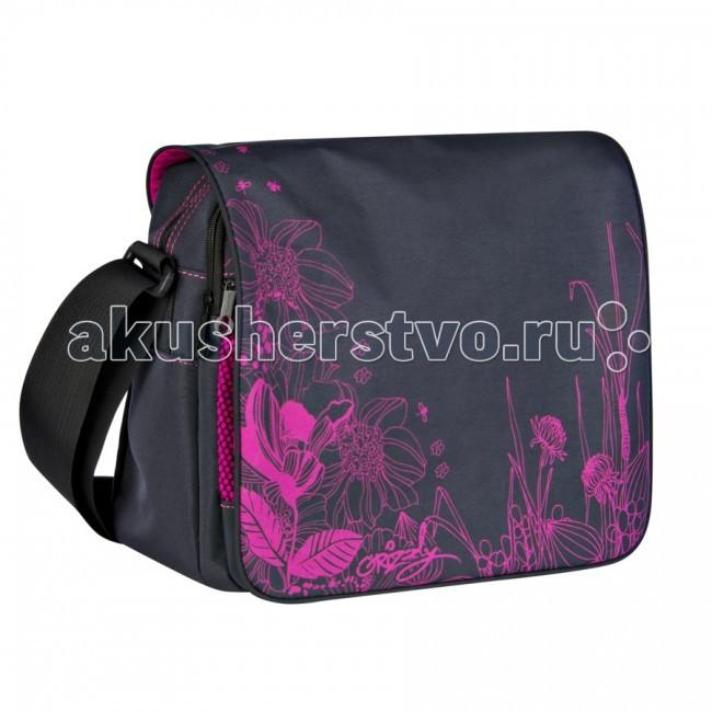 Школьные рюкзаки Grizzly Сумка школьная MD-353-4 рюкзаки grizzly рюкзак