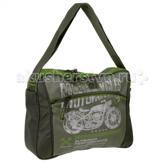 Школьные рюкзаки Grizzly Сумка школьная ММ-503-4 рюкзаки grizzly рюкзак