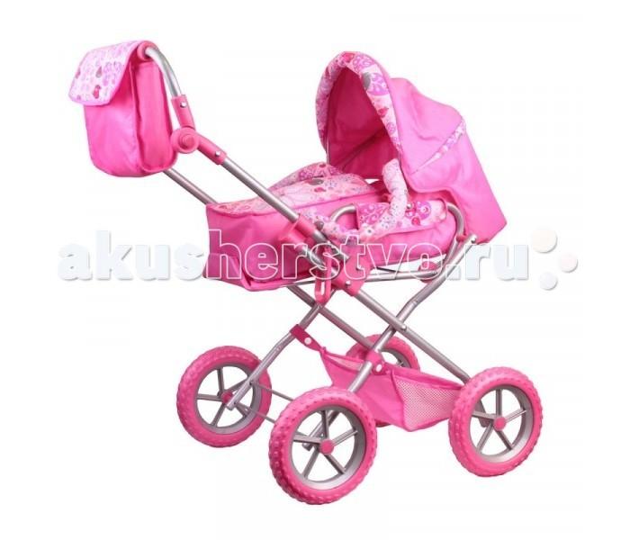 Коляска для куклы Gulliver зимняя с сумкойзимняя с сумкойКоляска для куклы Gulliver зимняя с сумкой - это коляска- трансформер, которая позволит девочке брать с собой игрушку на улицу в любое время года. Девочке будет приятно и интересно катать куклу в красивой и функциональной игрушечной коляске, которая похожу на настоящую коляску.  Особенности:  позволяет возить кукол в двух положениях капюшон откидывается высота ручки от пола 55 - 68 см колеса пластмассовые люлька, зафиксированная на металлической основе с помощью заклепок, снимается. Колеса и ручка покрыты нетоксичным вспененным каучуком, отличающимся особой легкостью и долговечностью. В комплект с коляской идут практичные аксессуары. На ручку заклепками прикреплена сумка для хранения мелких вещей.<br>