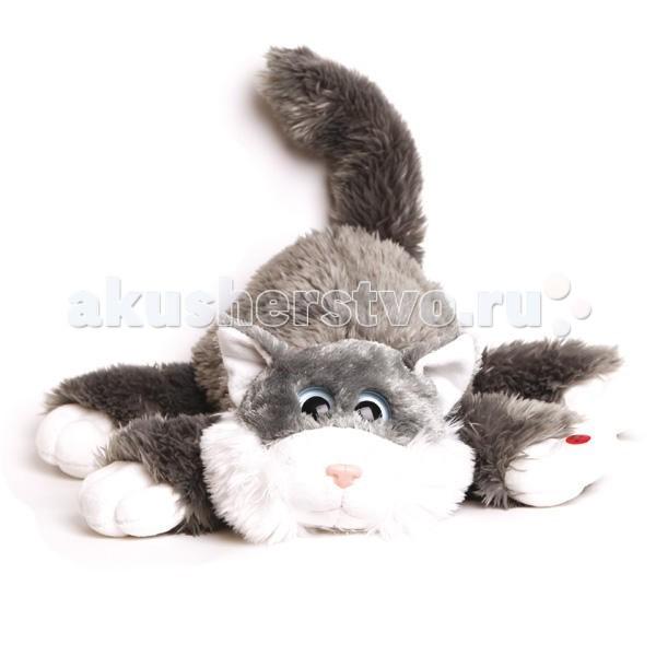Мягкие игрушки Gulliver Котик Шалунишка озвученный 45 см