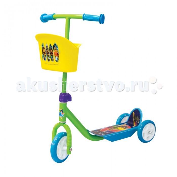Самокат Gulliver Sport трехколесный с корзинойSport трехколесный с корзинойСамокат Gulliver Sport - яркий, позитивный, очень привлекательный и зовущий скорее покататься - он никогда не позволит заскучать! А также оказывает положительное влияние на здоровье: укрепляет мышцы, способствует формированию правильной осанки.  Особенностями модели являются два задних колеса, благодаря которым легче удерживать равновесие, а также корзина на трубке для игрушек или необходимых в дороге вещей.   Развивает: умение держать равновесие умение сконцентрироваться скорость действий, реакцию  Характеристики: Рама: сталь Дека: пластик Колеса: полиуретан  Вес: 2.5 кг Максимальный вес: 30 кг<br>