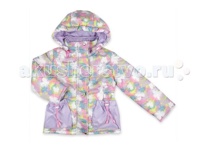 Детская одежда , Куртки, пальто, пуховики Гуш Куртка Бабочка для девочки К-006 арт: 365462 -  Куртки, пальто, пуховики