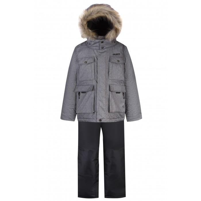 Купить Утеплённые комплекты, Gusti Комплект для мальчика (куртка, полукомбинезон) GWB 5427