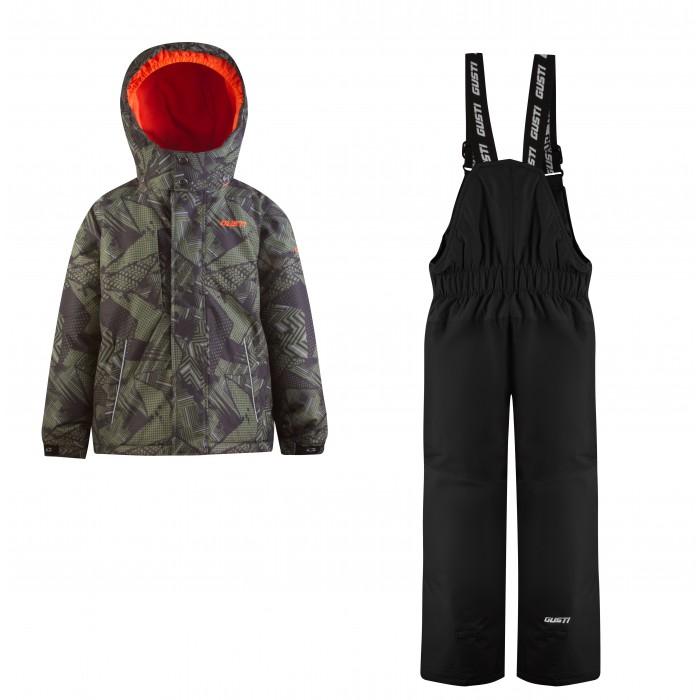 Купить со скидкой Gusti Комплект для мальчика (куртка, полукомбинезон) GWB 5604