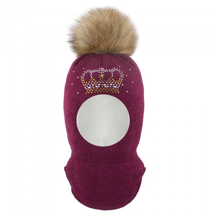 Шапки, варежки и шарфы Gusti Шлем-шапка для девочки AC1075G