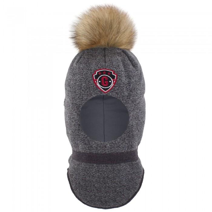 Картинка для Шапки, варежки и шарфы Gusti Шлем-шапка для мальчика AC1055B