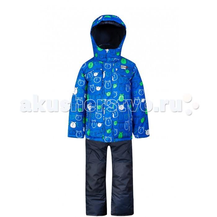 Gusti Boutique Комплект (куртка, полукомбинезон) GWB 4631Boutique Комплект (куртка, полукомбинезон) GWB 4631Gusti Boutique Комплект (куртка, полукомбинезон) GWB 4631  Зимний костюм Gusti состоит из куртки и полукомбинезона. В нем ребенку тепло и удобно независимо от того, какая температура на улице. Такая верхняя одежда – идеальный вариант для суровой зимы с сильными морозами.  Ткань верха куртки: Таслан ( Taslan )- мембрана с коэффициентом водонепроницаемости 5000 мм и коэффициентом паропроницаемости 5000 г/м2, одежда ветронепродуваемая. Благодаря тонкому полиуретановому напылению изнутри не промокает даже при сильной влаге, но при этом дышит (защита от влаги не препятствует циркуляции воздуха). Плотность ткани Т190 обеспечивает высокую износостойкость.  Утеплитель: Тек-Полифилл (Tech-Polyfil) - 230г/м2, силиконизированый полиэстер изготовленный по новейшим технологиям,  удерживает тепло при температуре до -30 С. Очень мягкий, создающий объем для сохранения тепла, более плотный на груди и спине (230г/м2) и менее плотный на рукавах (170г/м2). Высокоэффективный, обладающий повышенной устойчивостью к сжатию (после стирки в стиральной машине изделие достаточно встряхнуть), обеспечивающий хорошую вентиляцию, обладающий прекрасным, теплоизолирующими свойствами синтетический материал. Главные преимущества Тек-Полифила – одежда более  пушистая на ощупь и менее тяжелое по весу.  Подкладка: Высокотехнологичный флис COOLQUICK. Специальное кручение нитей позволяет ткани максимально впитывать влагу и увеличивать испаряемость с поверхности, т.е. выпустить пар, но не пропускает влагу снаружи, что обеспечивает комфорт даже при высоких физических нагрузках. Этот материал ранее был разработан специально для спортсменов, которые испытывали сильные нагрузки во время активного движения, а теперь принес комфорт и тепло в нашу повседневную жизнь. Это особенно важно для детей, когда они гуляют на свежем воздухе, чтобы тело всегда оставалось сухим и теплым. В этой одежде им будет тепло в т
