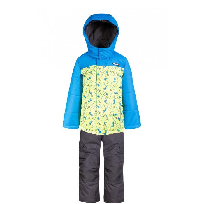 Gusti Boutique Комплект (куртка, полукомбинезон) GWB 4633Boutique Комплект (куртка, полукомбинезон) GWB 4633Gusti Boutique Комплект (куртка, полукомбинезон) GWB 4633  Зимний костюм Gusti состоит из куртки и полукомбинезона. В нем ребенку тепло и удобно независимо от того, какая температура на улице. Такая верхняя одежда – идеальный вариант для суровой зимы с сильными морозами.  Ткань верха куртки: Таслан ( Taslan )- мембрана с коэффициентом водонепроницаемости 5000 мм и коэффициентом паропроницаемости 5000 г/м2, одежда ветронепродуваемая. Благодаря тонкому полиуретановому напылению изнутри не промокает даже при сильной влаге, но при этом дышит (защита от влаги не препятствует циркуляции воздуха). Плотность ткани Т190 обеспечивает высокую износостойкость.  Утеплитель: Тек-Полифилл (Tech-Polyfil) - 230г/м2, силиконизированый полиэстер изготовленный по новейшим технологиям,  удерживает тепло при температуре до -30 С. Очень мягкий, создающий объем для сохранения тепла, более плотный на груди и спине (230г/м2) и менее плотный на рукавах (170г/м2). Высокоэффективный, обладающий повышенной устойчивостью к сжатию (после стирки в стиральной машине изделие достаточно встряхнуть), обеспечивающий хорошую вентиляцию, обладающий прекрасным, теплоизолирующими свойствами синтетический материал. Главные преимущества Тек-Полифила – одежда более  пушистая на ощупь и менее тяжелое по весу.  Подкладка: Высокотехнологичный флис COOLQUICK. Специальное кручение нитей позволяет ткани максимально впитывать влагу и увеличивать испаряемость с поверхности, т.е. выпустить пар, но не пропускает влагу снаружи, что обеспечивает комфорт даже при высоких физических нагрузках. Этот материал ранее был разработан специально для спортсменов, которые испытывали сильные нагрузки во время активного движения, а теперь принес комфорт и тепло в нашу повседневную жизнь. Это особенно важно для детей, когда они гуляют на свежем воздухе, чтобы тело всегда оставалось сухим и теплым. В этой одежде им будет тепло в т