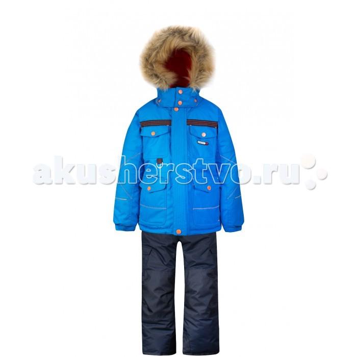 Gusti Boutique Комплект (куртка, полукомбинезон) GWB 4636Boutique Комплект (куртка, полукомбинезон) GWB 4636Gusti Boutique Комплект (куртка, полукомбинезон) GWB 4636  Зимний костюм Gusti состоит из куртки и полукомбинезона. В нем ребенку тепло и удобно независимо от того, какая температура на улице. Такая верхняя одежда – идеальный вариант для суровой зимы с сильными морозами.  Ткань верха куртки: Таслан ( Taslan )- мембрана с коэффициентом водонепроницаемости 5000 мм и коэффициентом паропроницаемости 5000 г/м2, одежда ветронепродуваемая. Благодаря тонкому полиуретановому напылению изнутри не промокает даже при сильной влаге, но при этом дышит (защита от влаги не препятствует циркуляции воздуха). Плотность ткани Т190 обеспечивает высокую износостойкость.  Утеплитель: Тек-Полифилл (Tech-Polyfil) - 230г/м2, силиконизированый полиэстер изготовленный по новейшим технологиям,  удерживает тепло при температуре до -30 С. Очень мягкий, создающий объем для сохранения тепла, более плотный на груди и спине (230г/м2) и менее плотный на рукавах (170г/м2). Высокоэффективный, обладающий повышенной устойчивостью к сжатию (после стирки в стиральной машине изделие достаточно встряхнуть), обеспечивающий хорошую вентиляцию, обладающий прекрасным, теплоизолирующими свойствами синтетический материал. Главные преимущества Тек-Полифила – одежда более  пушистая на ощупь и менее тяжелое по весу.  Подкладка: Высокотехнологичный флис COOLQUICK. Специальное кручение нитей позволяет ткани максимально впитывать влагу и увеличивать испаряемость с поверхности, т.е. выпустить пар, но не пропускает влагу снаружи, что обеспечивает комфорт даже при высоких физических нагрузках. Этот материал ранее был разработан специально для спортсменов, которые испытывали сильные нагрузки во время активного движения, а теперь принес комфорт и тепло в нашу повседневную жизнь. Это особенно важно для детей, когда они гуляют на свежем воздухе, чтобы тело всегда оставалось сухим и теплым. В этой одежде им будет тепло в т