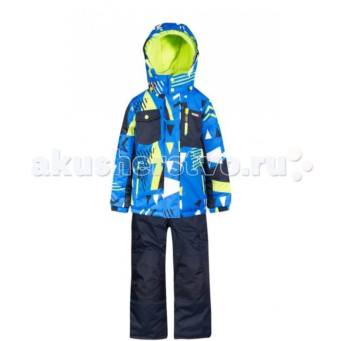 Gusti Boutique Комплект (куртка, полукомбинезон) GWB 4637Boutique Комплект (куртка, полукомбинезон) GWB 4637Gusti Boutique Комплект (куртка, полукомбинезон) GWB 4637  Зимний костюм Gusti состоит из куртки и полукомбинезона. В нем ребенку тепло и удобно независимо от того, какая температура на улице. Такая верхняя одежда – идеальный вариант для суровой зимы с сильными морозами.  Ткань верха куртки: Таслан ( Taslan )- мембрана с коэффициентом водонепроницаемости 5000 мм и коэффициентом паропроницаемости 5000 г/м2, одежда ветронепродуваемая. Благодаря тонкому полиуретановому напылению изнутри не промокает даже при сильной влаге, но при этом дышит (защита от влаги не препятствует циркуляции воздуха). Плотность ткани Т190 обеспечивает высокую износостойкость.  Утеплитель: Тек-Полифилл (Tech-Polyfil) - 230г/м2, силиконизированый полиэстер изготовленный по новейшим технологиям,  удерживает тепло при температуре до -30 С. Очень мягкий, создающий объем для сохранения тепла, более плотный на груди и спине (230г/м2) и менее плотный на рукавах (170г/м2). Высокоэффективный, обладающий повышенной устойчивостью к сжатию (после стирки в стиральной машине изделие достаточно встряхнуть), обеспечивающий хорошую вентиляцию, обладающий прекрасным, теплоизолирующими свойствами синтетический материал. Главные преимущества Тек-Полифила – одежда более  пушистая на ощупь и менее тяжелое по весу.  Подкладка: Высокотехнологичный флис COOLQUICK. Специальное кручение нитей позволяет ткани максимально впитывать влагу и увеличивать испаряемость с поверхности, т.е. выпустить пар, но не пропускает влагу снаружи, что обеспечивает комфорт даже при высоких физических нагрузках. Этот материал ранее был разработан специально для спортсменов, которые испытывали сильные нагрузки во время активного движения, а теперь принес комфорт и тепло в нашу повседневную жизнь. Это особенно важно для детей, когда они гуляют на свежем воздухе, чтобы тело всегда оставалось сухим и теплым. В этой одежде им будет тепло в т