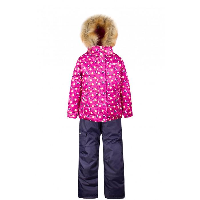 Gusti Boutique Комплект (куртка, полукомбинезон) GWG 4640Boutique Комплект (куртка, полукомбинезон) GWG 4640Gusti Boutique Комплект (куртка, полукомбинезон) GWG 4640  Зимний костюм Gusti состоит из куртки и полукомбинезона. В нем ребенку тепло и удобно независимо от того, какая температура на улице. Такая верхняя одежда – идеальный вариант для суровой зимы с сильными морозами.  Ткань верха куртки: Таслан ( Taslan )- мембрана с коэффициентом водонепроницаемости 5000 мм и коэффициентом паропроницаемости 5000 г/м2, одежда ветронепродуваемая. Благодаря тонкому полиуретановому напылению изнутри не промокает даже при сильной влаге, но при этом дышит (защита от влаги не препятствует циркуляции воздуха). Плотность ткани Т190 обеспечивает высокую износостойкость.  Утеплитель: Наполнитель тек-полифилл плотностью 283 гр/м (10 унций) в куртке и 170 гр/м (6 унций) в брюках, силиконизированый полиэстер изготовленный по новейшим технологиям,  удерживает тепло при температуре до -30 С. Высокоэффективный, обладающий повышенной устойчивостью к сжатию (после стирки в стиральной машине изделие достаточно встряхнуть), обеспечивающий хорошую вентиляцию, обладающий прекрасным, теплоизолирующими свойствами синтетический материал. Главные преимущества Тек-Полифила – одежда более  пушистая на ощупь и менее тяжелое по весу.  Подкладка: Высокотехнологичный флис COOLQUICK. Специальное кручение нитей позволяет ткани максимально впитывать влагу и увеличивать испаряемость с поверхности, т.е. выпустить пар, но не пропускает влагу снаружи, что обеспечивает комфорт даже при высоких физических нагрузках. Этот материал ранее был разработан специально для спортсменов, которые испытывали сильные нагрузки во время активного движения, а теперь принес комфорт и тепло в нашу повседневную жизнь.  Это особенно важно для детей, когда они гуляют на свежем воздухе, чтобы тело всегда оставалось сухим и теплым. В этой одежде им будет тепло в течение длительного времени  и нет необходимости надевать теплый свитер.  