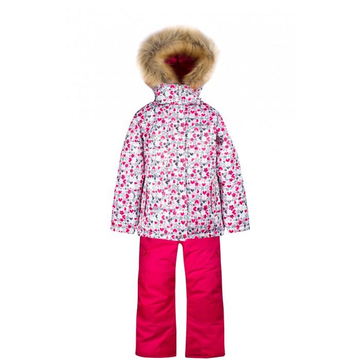 Gusti Boutique Комплект (куртка, полукомбинезон) GWG 4641Boutique Комплект (куртка, полукомбинезон) GWG 4641Gusti Boutique Комплект (куртка, полукомбинезон) GWG 4641  Зимний костюм Gusti состоит из куртки и полукомбинезона. В нем ребенку тепло и удобно независимо от того, какая температура на улице. Такая верхняя одежда – идеальный вариант для суровой зимы с сильными морозами.  Ткань верха куртки: Таслан ( Taslan )- мембрана с коэффициентом водонепроницаемости 5000 мм и коэффициентом паропроницаемости 5000 г/м2, одежда ветронепродуваемая. Благодаря тонкому полиуретановому напылению изнутри не промокает даже при сильной влаге, но при этом дышит (защита от влаги не препятствует циркуляции воздуха). Плотность ткани Т190 обеспечивает высокую износостойкость.  Утеплитель: Тек-Полифилл (Tech-Polyfil) - 230г/м2, силиконизированый полиэстер изготовленный по новейшим технологиям,  удерживает тепло при температуре до -30 С. Очень мягкий, создающий объем для сохранения тепла, более плотный на груди и спине (230г/м2) и менее плотный на рукавах (170г/м2). Высокоэффективный, обладающий повышенной устойчивостью к сжатию (после стирки в стиральной машине изделие достаточно встряхнуть), обеспечивающий хорошую вентиляцию, обладающий прекрасным, теплоизолирующими свойствами синтетический материал. Главные преимущества Тек-Полифила – одежда более  пушистая на ощупь и менее тяжелое по весу.  Подкладка: Высокотехнологичный флис COOLQUICK. Специальное кручение нитей позволяет ткани максимально впитывать влагу и увеличивать испаряемость с поверхности, т.е. выпустить пар, но не пропускает влагу снаружи, что обеспечивает комфорт даже при высоких физических нагрузках. Этот материал ранее был разработан специально для спортсменов, которые испытывали сильные нагрузки во время активного движения, а теперь принес комфорт и тепло в нашу повседневную жизнь.  Это особенно важно для детей, когда они гуляют на свежем воздухе, чтобы тело всегда оставалось сухим и теплым. В этой одежде им будет тепло в 