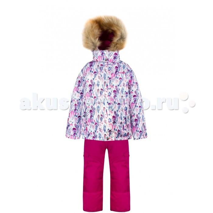 Gusti Boutique Комплект (куртка, полукомбинезон) GWG 4643Boutique Комплект (куртка, полукомбинезон) GWG 4643Gusti Boutique Комплект (куртка, полукомбинезон) GWG 4643  Зимний костюм Gusti состоит из куртки и полукомбинезона. В нем ребенку тепло и удобно независимо от того, какая температура на улице. Такая верхняя одежда – идеальный вариант для суровой зимы с сильными морозами.  Ткань верха куртки: Таслан ( Taslan )- мембрана с коэффициентом водонепроницаемости 5000 мм и коэффициентом паропроницаемости 5000 г/м2, одежда ветронепродуваемая. Благодаря тонкому полиуретановому напылению изнутри не промокает даже при сильной влаге, но при этом дышит (защита от влаги не препятствует циркуляции воздуха). Плотность ткани Т190 обеспечивает высокую износостойкость.  Утеплитель: Тек-Полифилл (Tech-Polyfil) - 230г/м2, силиконизированый полиэстер изготовленный по новейшим технологиям,  удерживает тепло при температуре до -30 С. Очень мягкий, создающий объем для сохранения тепла, более плотный на груди и спине (230г/м2) и менее плотный на рукавах (170г/м2). Высокоэффективный, обладающий повышенной устойчивостью к сжатию (после стирки в стиральной машине изделие достаточно встряхнуть), обеспечивающий хорошую вентиляцию, обладающий прекрасным, теплоизолирующими свойствами синтетический материал. Главные преимущества Тек-Полифила – одежда более  пушистая на ощупь и менее тяжелое по весу.  Подкладка: Высокотехнологичный флис COOLQUICK. Специальное кручение нитей позволяет ткани максимально впитывать влагу и увеличивать испаряемость с поверхности, т.е. выпустить пар, но не пропускает влагу снаружи, что обеспечивает комфорт даже при высоких физических нагрузках. Этот материал ранее был разработан специально для спортсменов, которые испытывали сильные нагрузки во время активного движения, а теперь принес комфорт и тепло в нашу повседневную жизнь.  Это особенно важно для детей, когда они гуляют на свежем воздухе, чтобы тело всегда оставалось сухим и теплым. В этой одежде им будет тепло в 