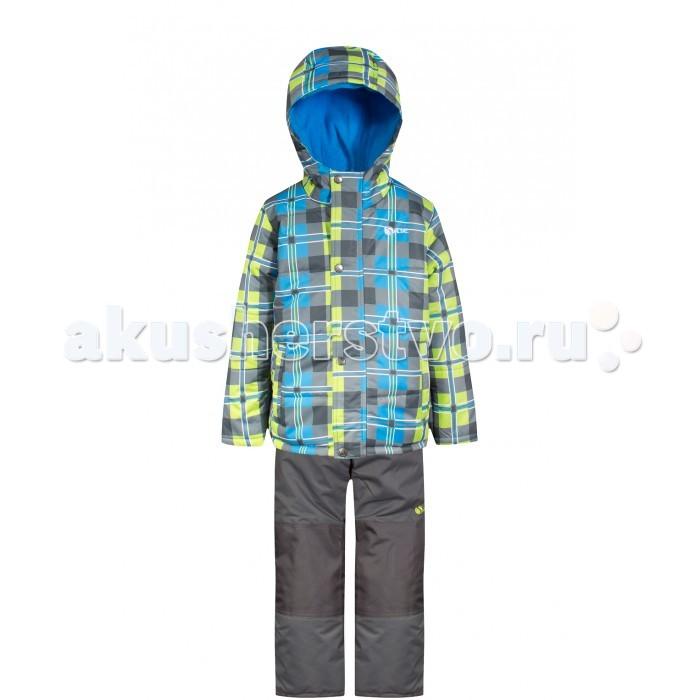 Salve by Gusti Комплект (куртка, полукомбинезон) SWB 4648Комплект (куртка, полукомбинезон) SWB 4648Salve by Gusti Комплект (куртка, полукомбинезон) SWB 4648  Зимний костюм Gusti состоит из куртки и полукомбинезона. В нем ребенку тепло и удобно независимо от того, какая температура на улице. Такая верхняя одежда – идеальный вариант для суровой зимы с сильными морозами. Полукомбинезон размеров до 4 лет имеет высокую грудку и спинку, размеров от 7 до 14 лет – отстёгивающийся верх.  Ткань верха куртки: Таслан ( Taslan )- мембрана с коэффициентом водонепроницаемости 2000 мм и коэффициентом паропроницаемости 2000 г/м2, одежда ветронепродуваемая. Благодаря тонкому полиуретановому напылению изнутри не промокает даже при сильной влаге, но при этом дышит (защита от влаги не препятствует циркуляции воздуха). Плотность ткани Т190 обеспечивает высокую износостойкость.  Утеплитель: Тек-Полифилл (Tech-Polyfil) - 283г/м2, силиконизированый полиэстер изготовленный по новейшим технологиям,  удерживает тепло при температуре до -30 С. Очень мягкий , создающий объем для сохранения тепла, более плотный на груди и спине (283г/м2) и менее плотный на рукавах (230г/м2). Высокоэффективный, обладающий повышенной устойчивостью к сжатию (после стирки в стиральной машине изделие достаточно встряхнуть), обеспечивающий хорошую вентиляцию, обладающий прекрасным, теплоизолирующими свойствами синтетический материал. Главные преимущества Тек-Полифила – одежда более  пушистая на ощупь и менее тяжелое по весу.  Подкладка: Высокотехнологичный флис COOLQUICK. Специальное кручение нитей позволяет ткани максимально впитывать влагу и увеличивать испаряемость с поверхности, т.е. выпустить пар, но не пропускает влагу снаружи, что обеспечивает комфорт даже при высоких физических нагрузках. Этот материал ранее был разработан специально для спортсменов, которые испытывали сильные нагрузки во время активного движения, а теперь принес комфорт и тепло в нашу повседневную жизнь.  Это особенно важно для детей, когда он