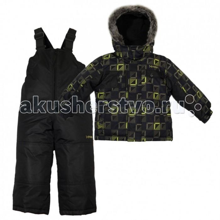 Gusti X-Trem Комплект одежды XWB 4907X-Trem Комплект одежды XWB 4907Зимний костюм Gusti состоит из куртки и полукомбинезона. В нем ребенку тепло и удобно независимо от того, какая температура на улице. Такая верхняя одежда – идеальный вариант для суровой зимы с сильными морозами.  Куртка:  Ткань верха taslan 2000мм  Наполнитель тек-полифилл плотностью 230 гр/м (8 унций)  Подклад флис на груди и спинке  Снегозащитная юбка  Регулируемый рукав  Молнии и фурнитура YKK  Капюшон отстегивается  Брюки:  Ткань верха taslan 2000мм + Cordura Oxford сзади, на коленях, и по низу брючин  Наполнитель тек-полифилл плотностью 170 гр/м (6 унций)  Регулируемые лямки полукомбинезона.  Снегозащитные гетры.  Молнии и фурнитура YKK<br>