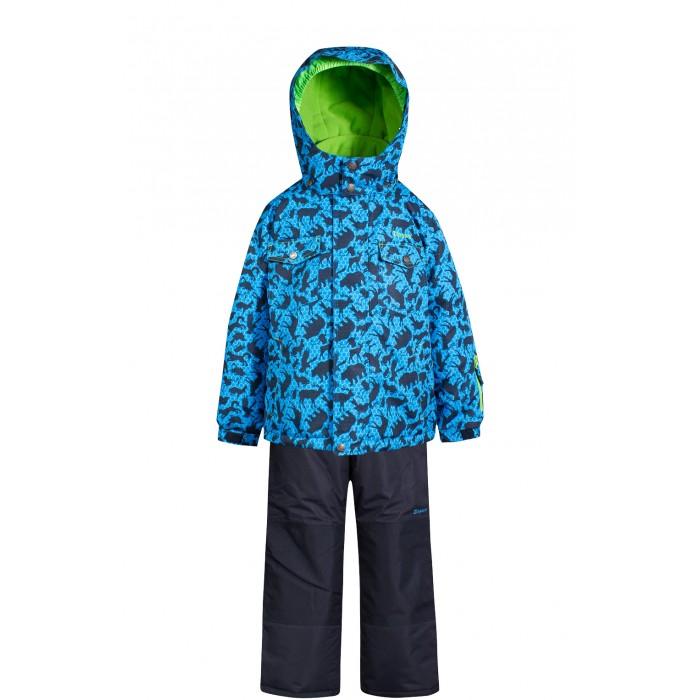 Zingaro by Gusti Комплект (куртка, полукомбинезон) ZWB 4614Комплект (куртка, полукомбинезон) ZWB 4614Zingaro by Gusti Комплект (куртка, полукомбинезон) ZWB 4614  Зимний костюм Gusti состоит из куртки и полукомбинезона. В нем ребенку тепло и удобно независимо от того, какая температура на улице. Такая верхняя одежда – идеальный вариант для суровой зимы с сильными морозами. Полукомбинезон размеров до 4 лет имеет высокую грудку и спинку, размеров от 7 до 14 лет – отстёгивающийся верх.  Ткань верха: Таслан ( Taslan )- мембрана с коэффициентом водонепроницаемости 2000 мм и коэффициентом паропроницаемости 2000 г/м2, одежда ветронепродуваемая. Благодаря тонкому полиуретановому напылению изнутри не промокает даже при сильной влаге, но при этом дышит (защита от влаги не препятствует циркуляции воздуха). Плотность ткани Т190 обеспечивает высокую износостойкость.  Утеплитель: Тек-Полифилл (Tech-Polyfil) - 230г/м2, силиконизированый полиэстер изготовленный по новейшим технологиям,  удерживает тепло при температуре до -30 С. Очень мягкий, создающий объем для сохранения тепла, более плотный на груди и спине (230г/м2) и менее плотный на рукавах (170г/м2).   Высокоэффективный, обладающий повышенной устойчивостью к сжатию (после стирки в стиральной машине изделие достаточно встряхнуть), обеспечивающий хорошую вентиляцию, обладающий прекрасным, теплоизолирующими свойствами синтетический материал. Главные преимущества Тек-Полифила – одежда более пушистая на ощупь и менее тяжелое по весу.  Подкладка: Высокотехнологичный флис COOLQUICK. Специальное кручение нитей позволяет ткани максимально впитывать влагу и увеличивать испаряемость с поверхности, т.е. выпустить пар, но не пропускает влагу снаружи, что обеспечивает комфорт даже при высоких физических нагрузках. Этот материал ранее был разработан специально для спортсменов, которые испытывали сильные нагрузки во время активного движения, а теперь принес комфорт и тепло в нашу повседневную жизнь.  Это особенно важно для детей, когда они г
