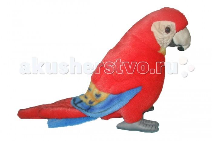 Купить Мягкие игрушки, Мягкая игрушка Hansa Попугай Ара 20 см