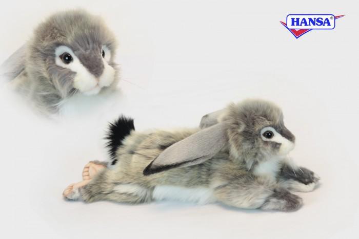 Мягкие игрушки Hansa Заяц вислоухий 40 см мягкие игрушки hansa чернохвостый заяц 23 см