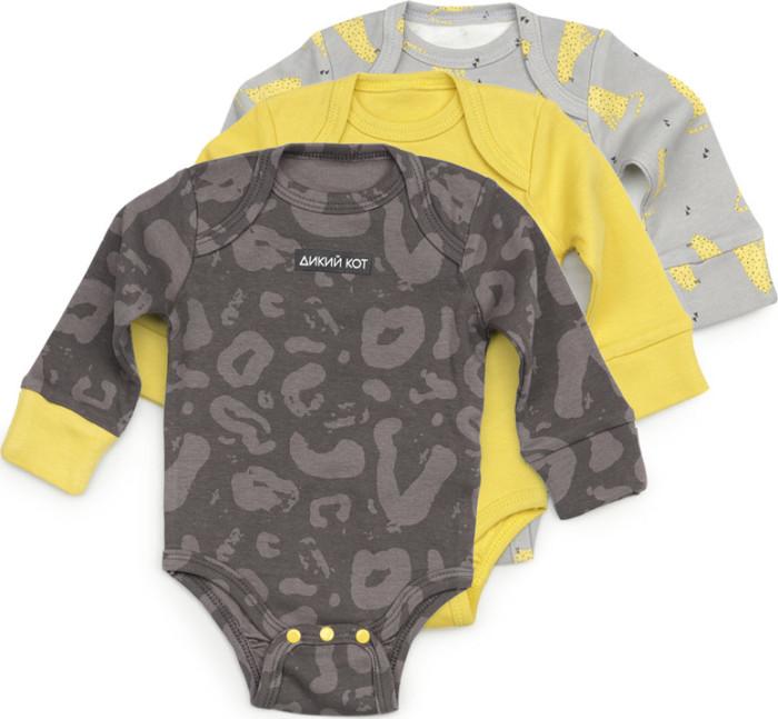 Картинка для Happy Baby Боди для мальчика с длинным рукавом 3 шт.