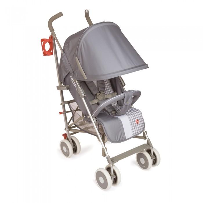 Коляска-трость Happy Baby CindyCindyКоляска-трость Happy Baby Cindy - легкая и удобная коляска, с твердой спинкой, алюминиевой рамой и сдвоенными колесами. Модель, особенно популярная среди родителей, для которых безопасность и удобство ребенка стоят на первом месте.   Прогулочный блок: регулируемый наклон спинки до 170 градусов (4 положения) пятиточечные ремни безопасности с мягкими накладками для ребёнка съемная подушка-подголовник съемный капюшон регулируемая опора для ног бампер гипоаллергенные ткани тканевые детали легко чистятся компактно складывается для хранения и транспортировки удобные ручки эргономичной формы специальное нескользящее покрытие ручек 4 сдвоенных колесных блока пластиковые с покрытием EVA (этиленвинилацетат) поворотные передние колеса с возможностью фиксации тормоз-фиксатор на задних колесах рама сделана из современного легкосплавного алюминия, который облегчает коляску рама складывается в трость.  В комплекте: дождевик, подстаканник, москитная сетка.  Габариты: высота от пола до ручек - 109 см ширина колесной базы - 48 см размеры сиденья (ш х г) - 34 х 21 см размеры в сложенном виде (ш х д х в) - 29.5 х 26.5 х 107 см длина подножки - 15 см длина спального места с опорой для ног - 83 см диаметр колес - 15 см Вес: 7,5 кг  Внимание! Наличие разделителя для ножек зависит от поставки! Цвет подстаканника может отличаться от представленного на фото!<br>