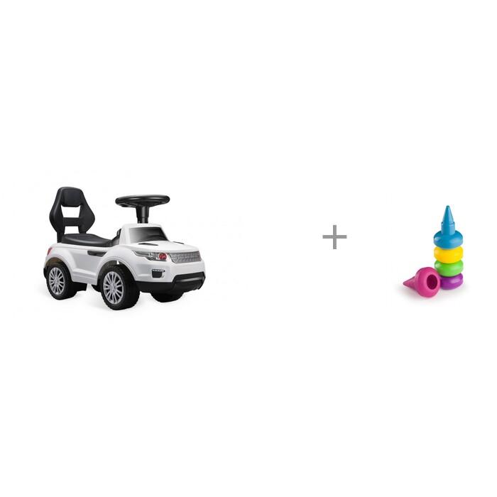 Купить Электромобили, Электромобиль Happy Baby Jeeppy с набором восковых мелков 5 цветов Happy Baby